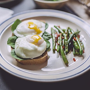 Breakfast of Poached Eggs