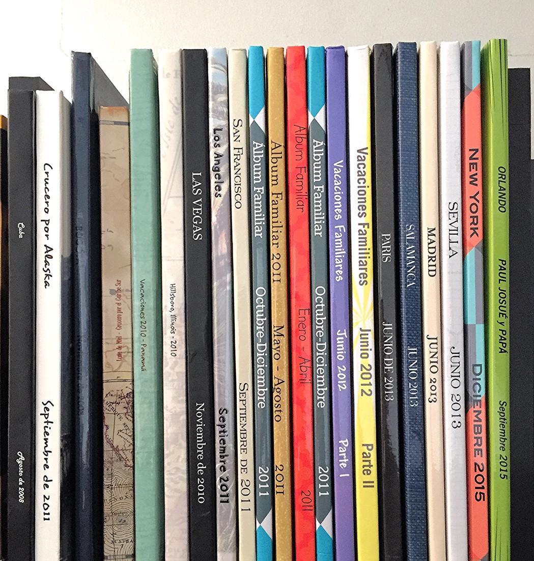 Libros Fotos Familiares