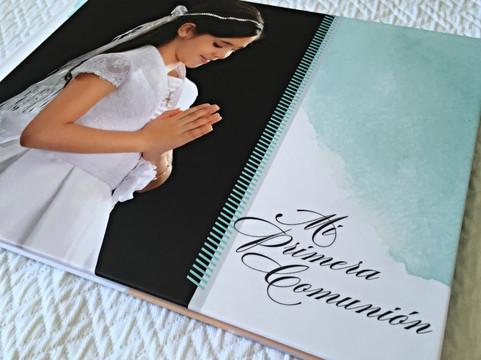 Libro Fotos Primera Comunión