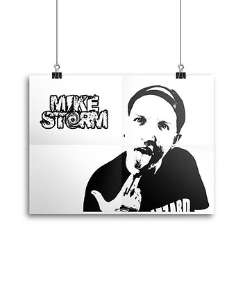 """Mike Storm """"Ink"""" Poster"""