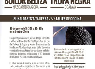 Taller de cocina V Feria de La Trufa Negra de Álava
