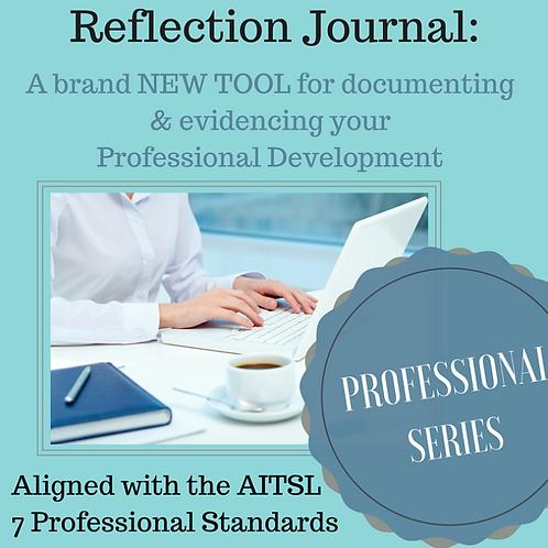 Professional Reflection Journal
