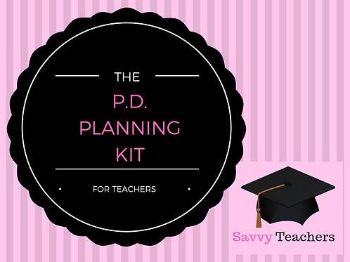 Teacher PD Planning Kit