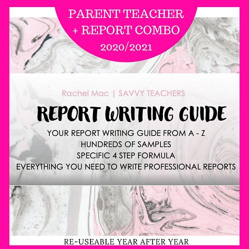 Report Writing + Parent Teacher COMBO