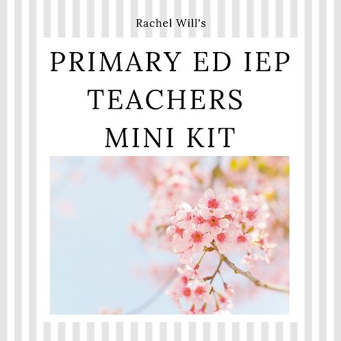 IEP Mini Kit for Primary Teachers