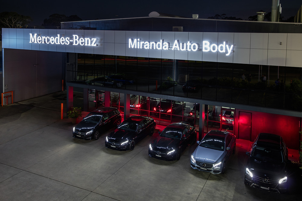 Miranda Auto Body is proud to be an authorised and certified Mercedes-Benz repair centre.
