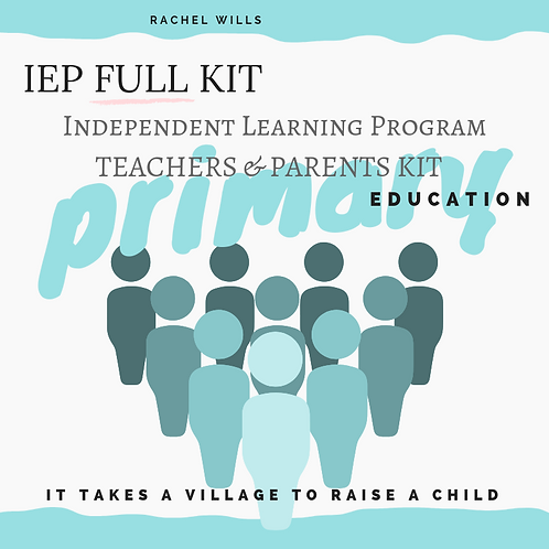 IEP Complete KIT for Primary Education