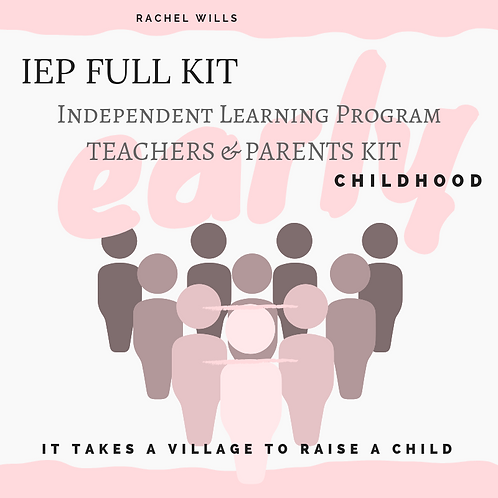 IEP FULL KIT - Early Childhood Education