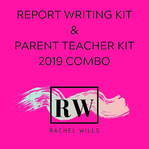 Assessment COMBO - Parent Teacher Kit + Report Comments