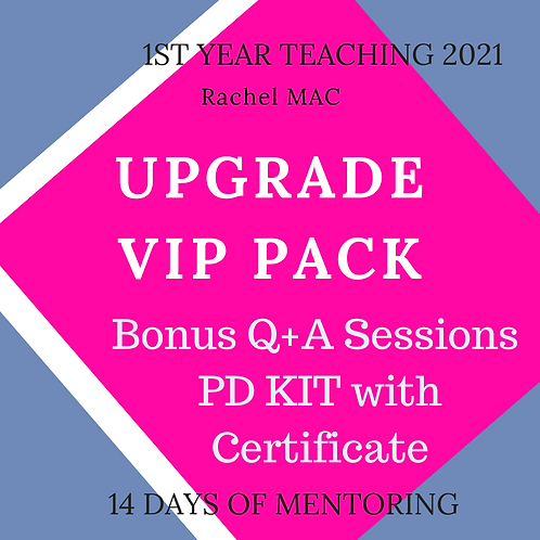 VIP Mentor Pack UPGRADE