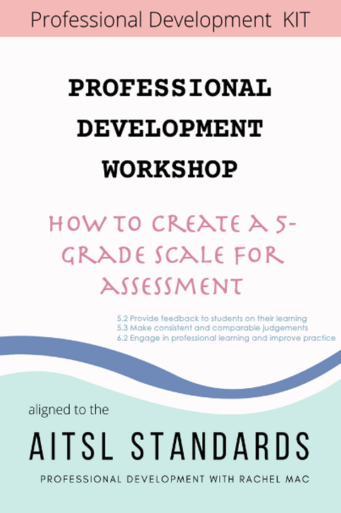 PD KIT - Creating A 5-Grade Scale