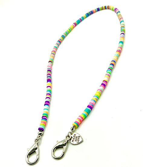 ONE AND DONE - RAINBOW NEON CLAY BEADZ