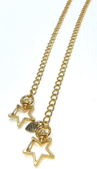 ONE AND DONE - GOLD LINKZ WITH STAR CLASP