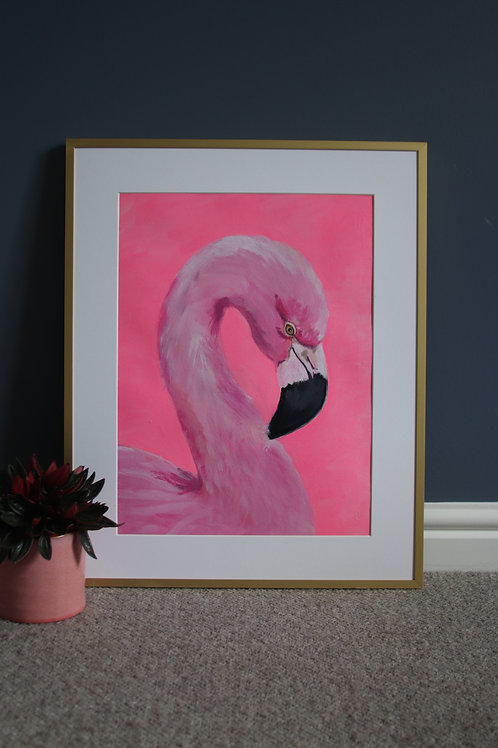 Neon Flamingo Original