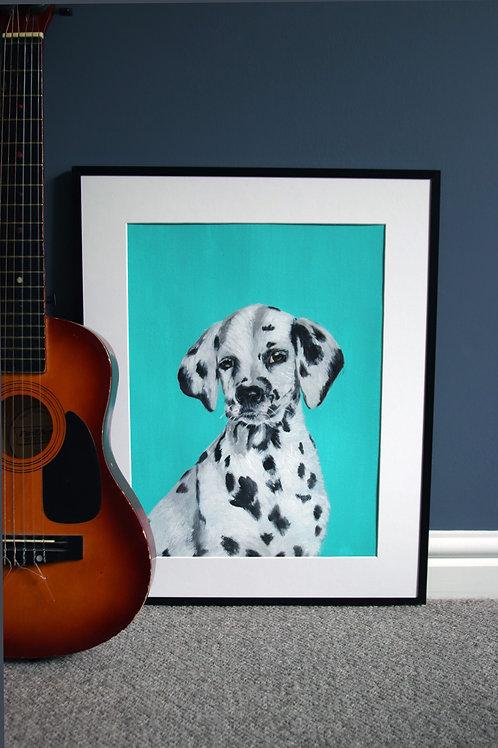 Dalmation Pup Original
