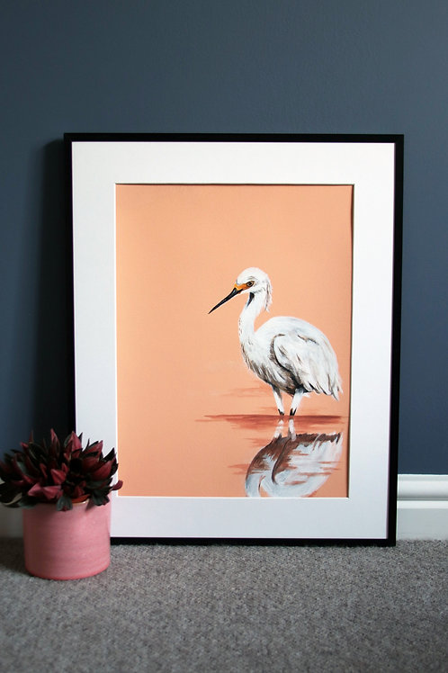 Heron 2 Fine Art Print