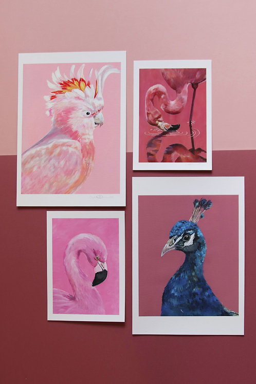 Pink Gallery Wall Bundle - Usual price £60