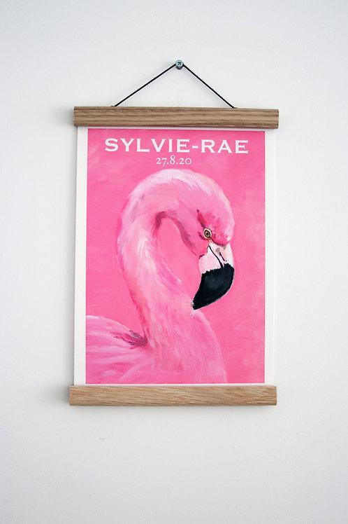 Custom Flamingo Fine Art Print
