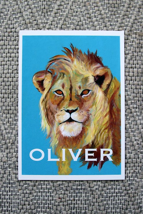 Custom Lion Fine Art Print