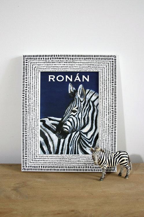 Custom Zebra Fine Art Print