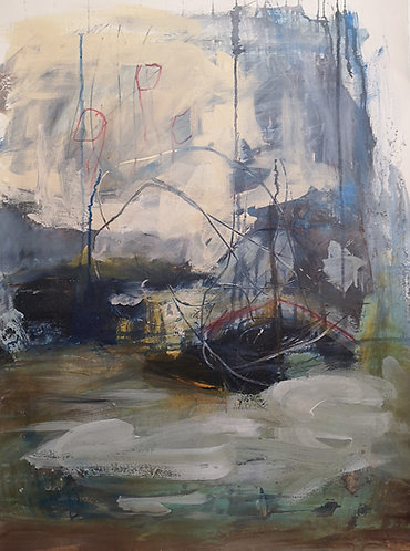 Boats on the Avon at Tewkesbury