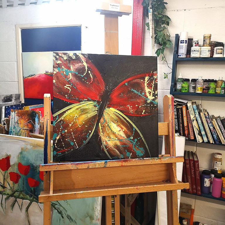 Butterfly Canvas  (1)