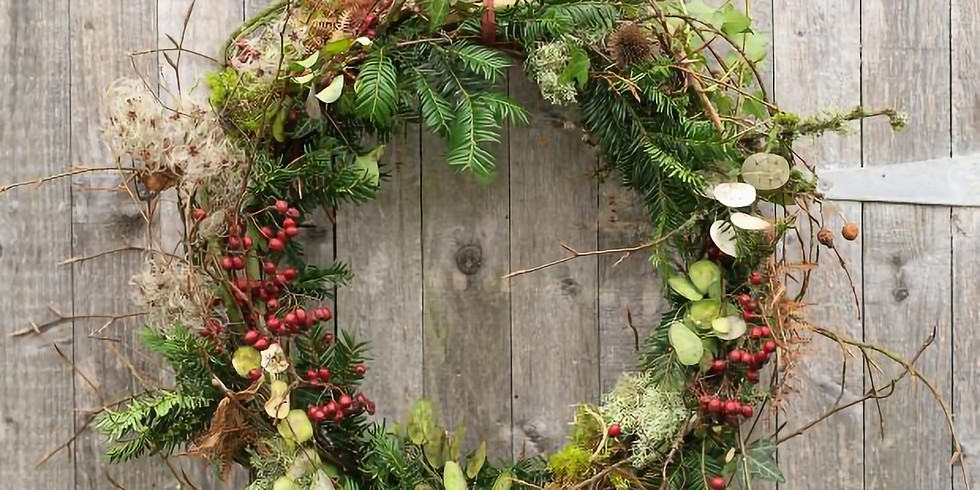 Christmas Willow Wreathe Workshop 15th December