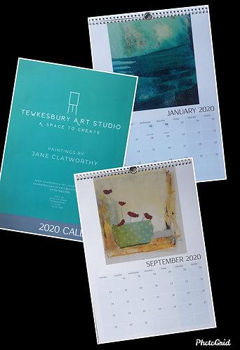 Tewkesbury art studio 2020 calendar