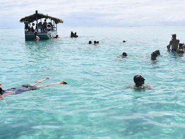 Holiday in Cook Islands  Part 6  Koka lagoon cruise
