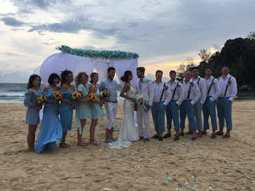 Holiday in Phuket, Thailand   Part 2         友達の結婚式