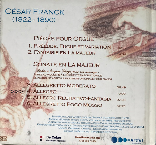 2_Allegro_Franck_Violinsonata