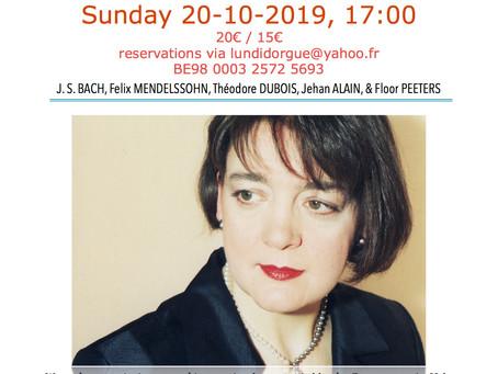 Sunday organ recital
