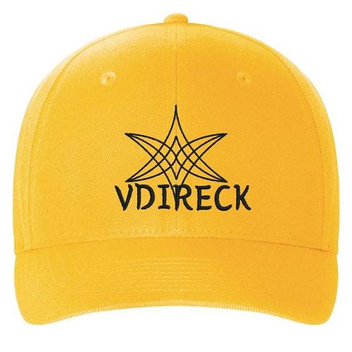Casquette structurée en sergé Flexfit avec le logo VDIRECK