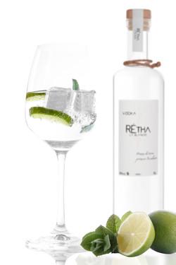 Vodka citron vert