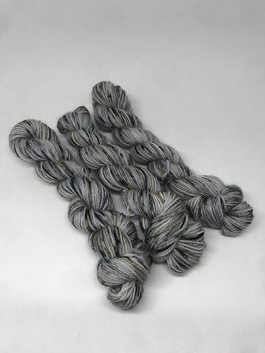 Wolf grey sky mini