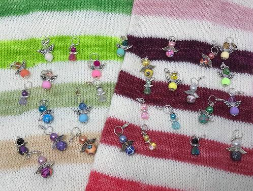 Angel stitch markers