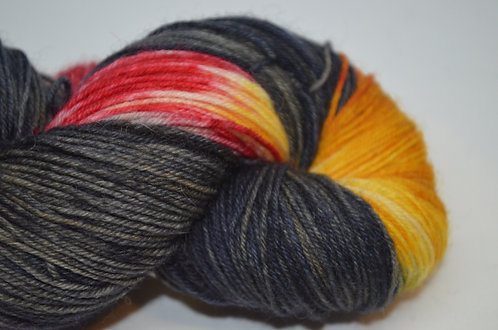 Coal Fire - dyed to order