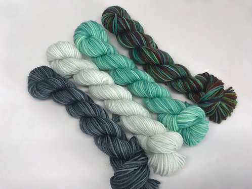 Deep in the Forest - mini skeins