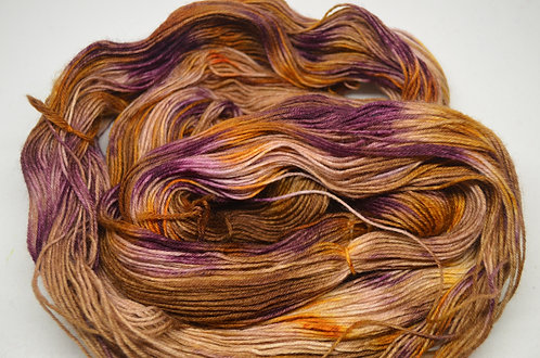 Plum pudding - dyed to order