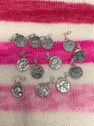 Astrology stitch markers