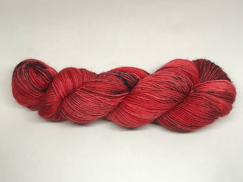 A field of poppies - dyed to order