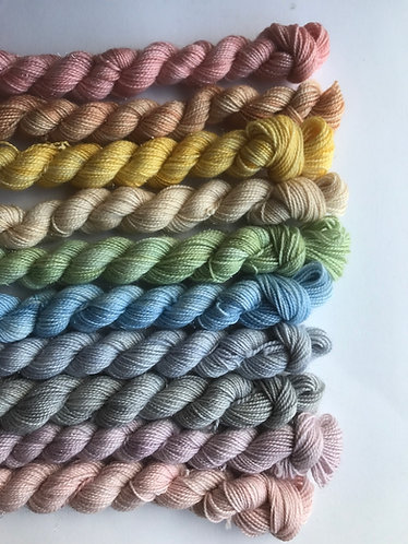 Winter frost rainbow bundle - ready to ship