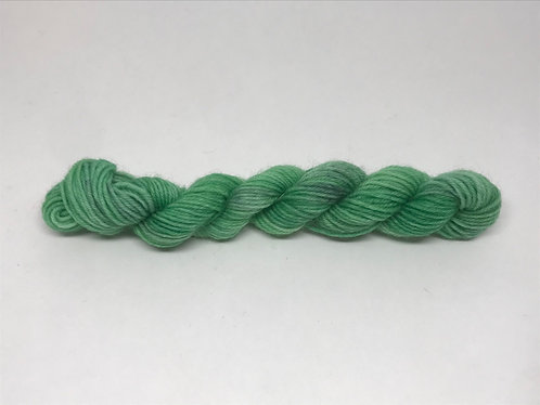 Noisette in green - dyed to order