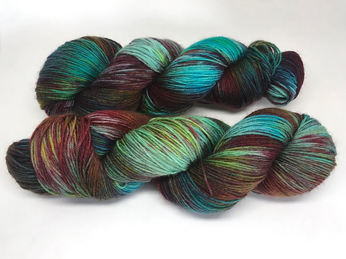 Deep in the forest - dyed to order