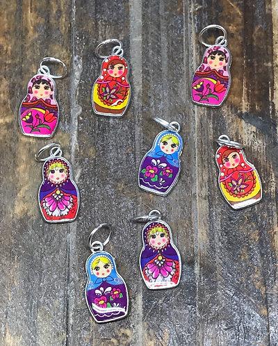 Stitch markers - dolls