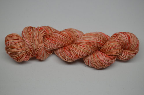 4 ply - Ginger peachy
