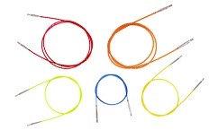 Knit Pro Interchangeable coloured cables