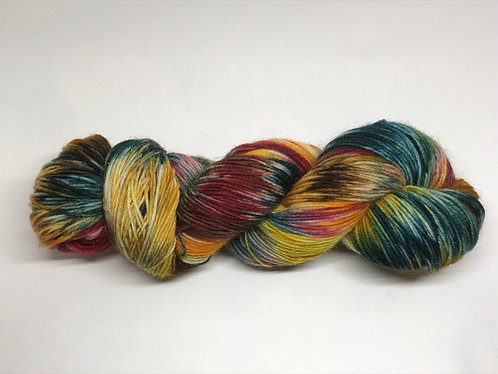 Pumpkin patch - dyed to order