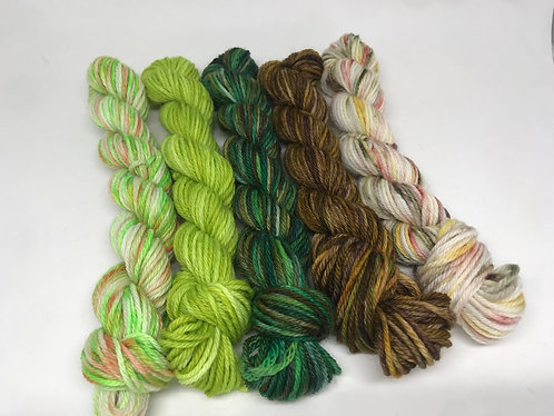 DK minis - Herbology/Moss/Forest of Dean/Stone of Destiny/Hints of Autumn