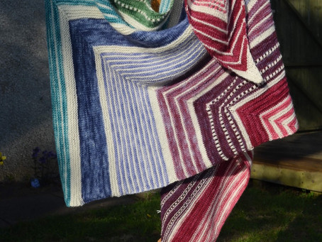 Henny Penny's favourite makes - Make Your Own Luck shawl